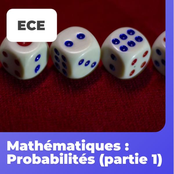 reussirsaprepa ece probabilités partie 1